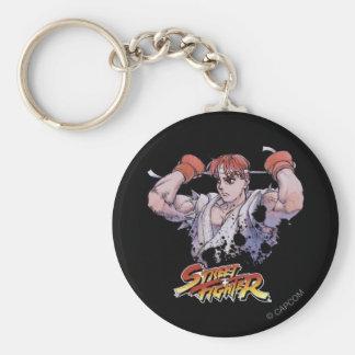 Ryu Llavero Redondo Tipo Pin