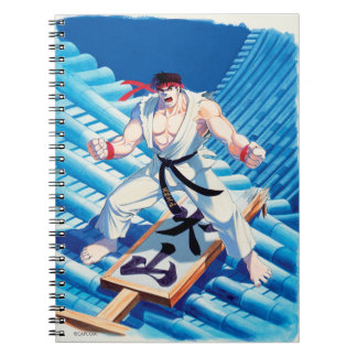 Ryu on Roof Notebook