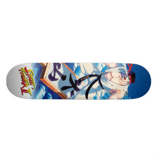 Ryu on Roof Skateboard