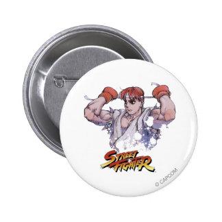 Ryu Pin Redondo De 2 Pulgadas