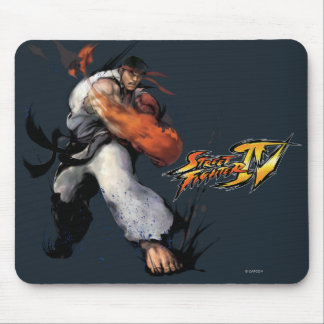 Ryu Punch Mouse Pad