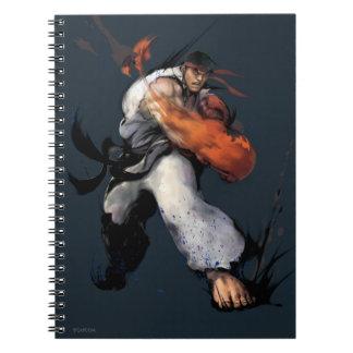 Ryu Punch Spiral Notebook