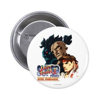 Ryu, Sagat & Akuma Button