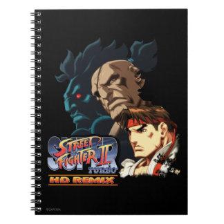 Ryu, Sagat & Akuma Notebook
