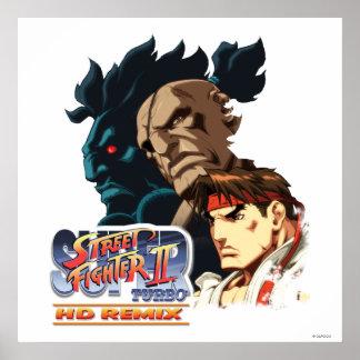 Ryu, Sagat & Akuma Poster