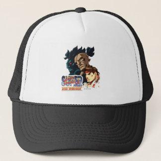 Ryu, Sagat & Akuma Trucker Hat