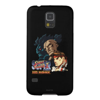 Ryu, Sagat y Akuma Carcasa De Galaxy S5