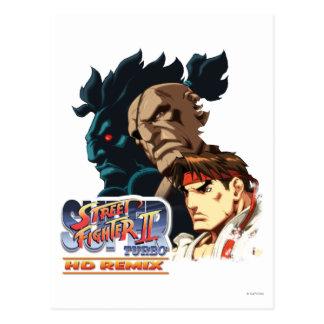 Ryu, Sagat y Akuma Postal
