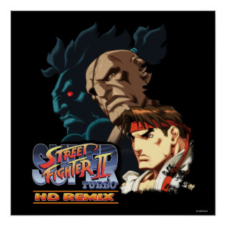 Ryu, Sagat y Akuma Poster