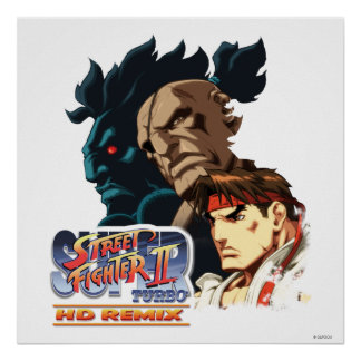 Ryu, Sagat y Akuma Posters