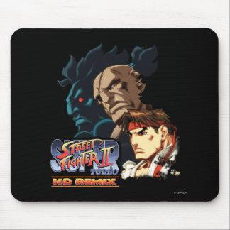 Ryu, Sagat y Akuma Tapete De Ratones