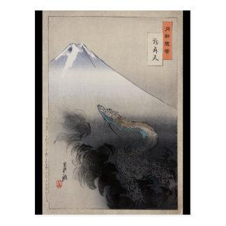 Ryū shōten by Ogata Gekkō (1897) Postcard