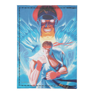 Ryu Versus Bison Tyvek® Card Case Wallet