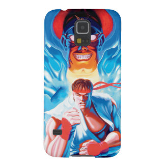 Ryu Versus Bison Galaxy S5 Cover