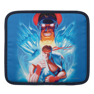 Ryu Versus Bison Sleeves For iPads