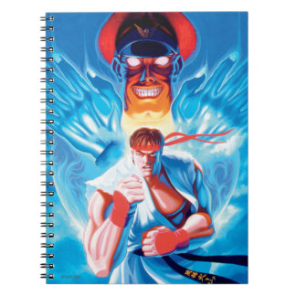 Ryu Versus Bison Notebook