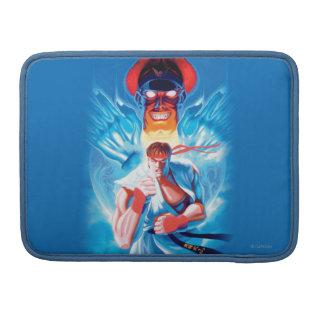 Ryu Versus Bison Sleeve For MacBook Pro