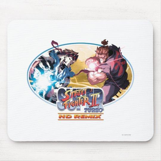 Ryu Vs Akuma Mouse Pad