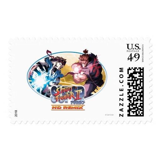 Ryu Vs Akuma Stamps