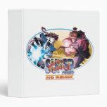 Ryu Vs Akuma Vinyl Binders
