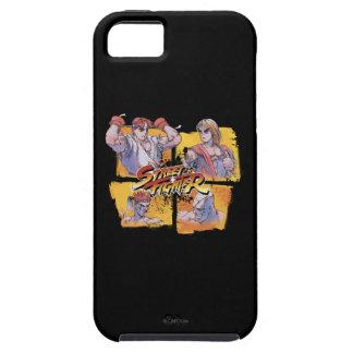 Ryu Vs Ken & Adon Vs Sagat iPhone SE/5/5s Case