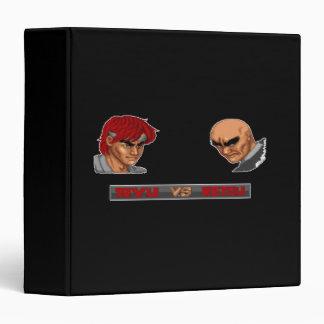 Ryu Vs Retsu 3 Ring Binder