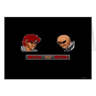 Ryu Vs Retsu Card