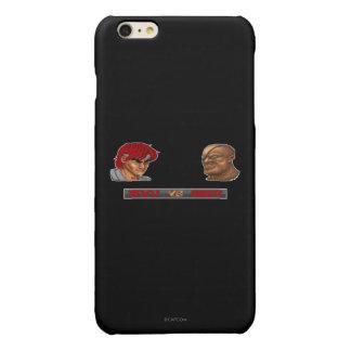 Ryu Vs Sagat 2 Glossy iPhone 6 Plus Case