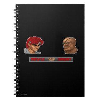 Ryu Vs Sagat 2 Notebook