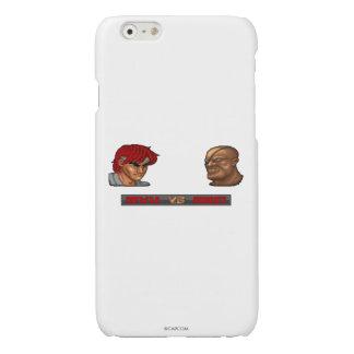 Ryu Vs Sagat Glossy iPhone 6 Case