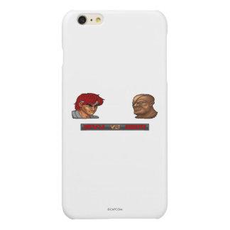 Ryu Vs Sagat Glossy iPhone 6 Plus Case