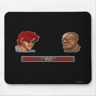 Ryu Vs Sagat Mouse Pad