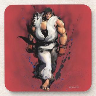 Ryu Walking Beverage Coaster
