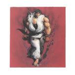 Ryu Walking Memo Notepad