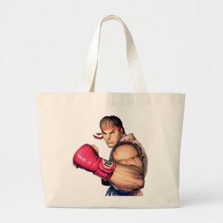 Ryu with Fist Raised Bag