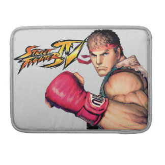 Ryu with Fist Raised Sleeve For MacBook Pro