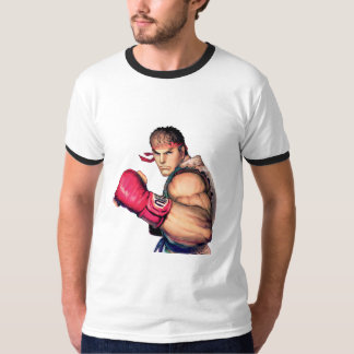 Ryu with Fist Raised T-Shirt