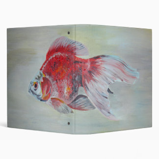 Ryukin Goldfish 3 Ring Binder