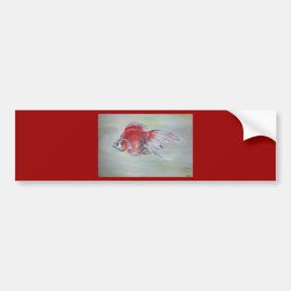 Ryukin Goldfish Bumper Sticker