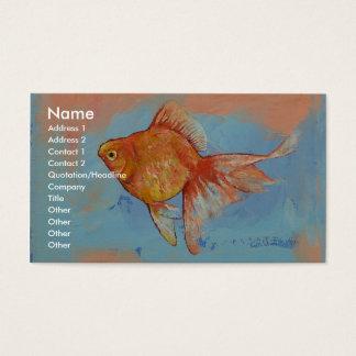 Ryukin Goldfish Business Card
