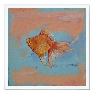 Ryukin Goldfish Invitation