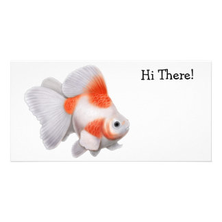 Ryukin Goldfish Photo Card