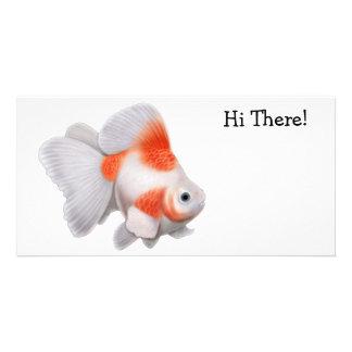 Ryukin Goldfish Photo Card