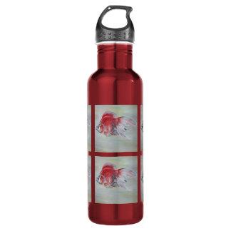Ryukin Goldfish Stainless Steel Water Bottle