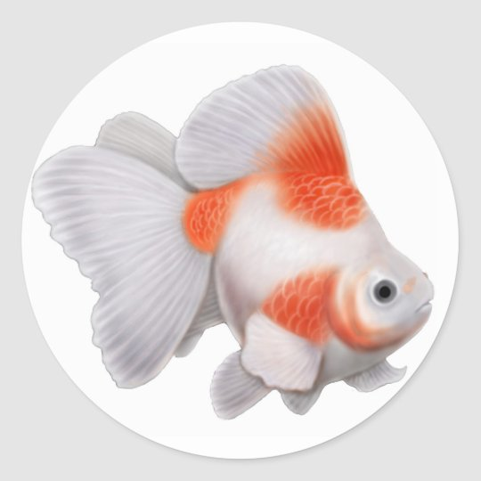 Ryukin Goldfish Sticker