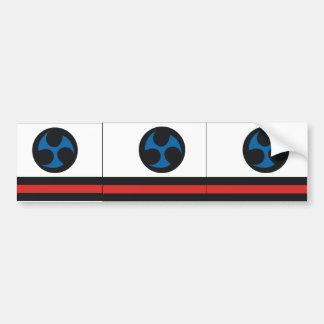 Ryukyu Islands, Japan Car Bumper Sticker