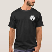 Ryukyu Kingdom Black & White Seal Shirt