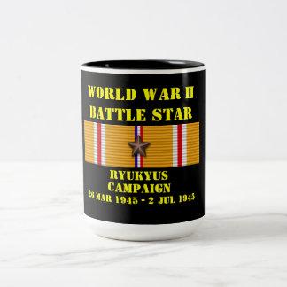 Ryukyus Campaign Two-Tone Coffee Mug