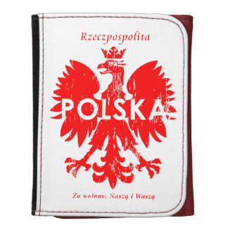 Rzeczpospolita Polska Poland Eagle Symbol Wallets