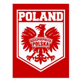 """""""Rzeczpospolita Polska"""" Republic of Poland Eagle Postcard"""